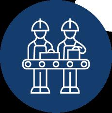 Deux opérateurs en poste