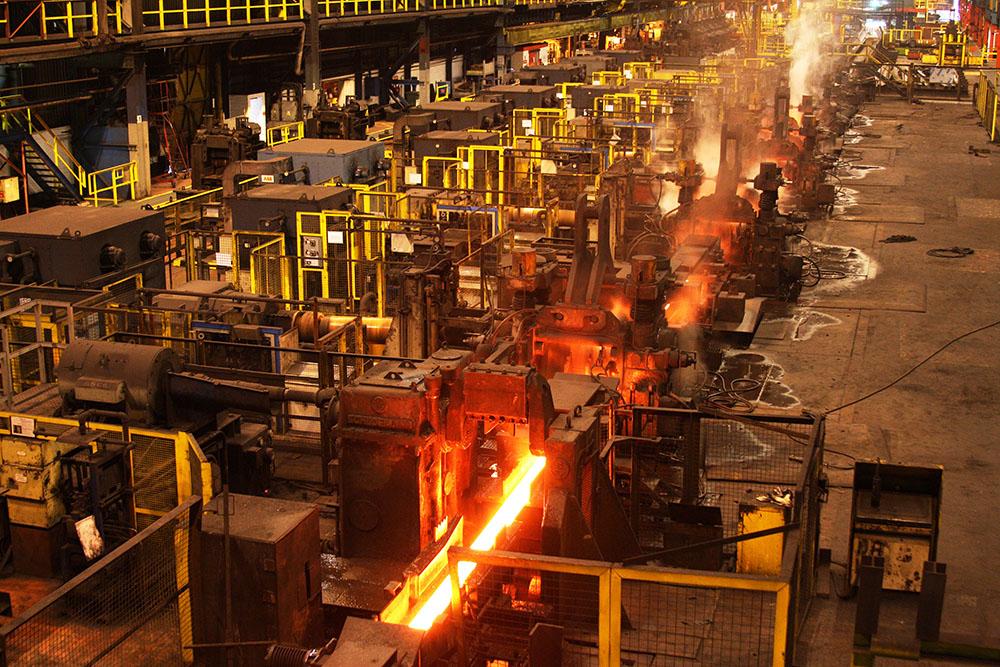 Site industriel métallurgique